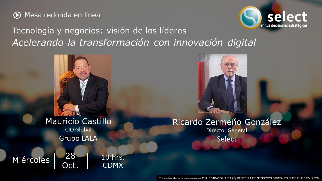 Tecnología y negocios: visión de los líderes